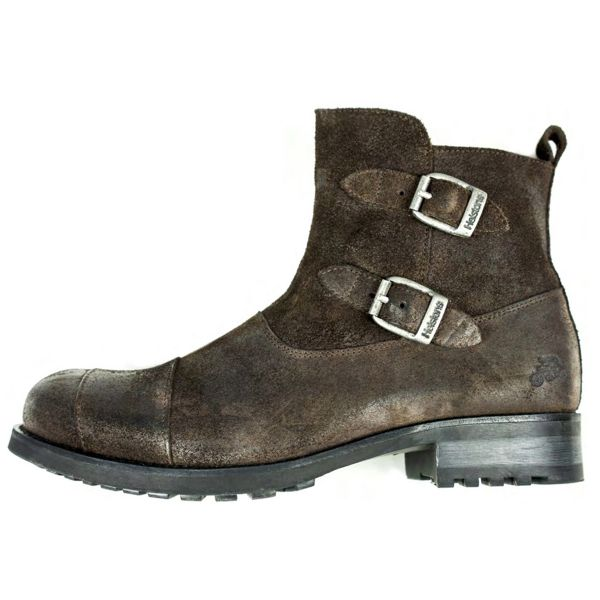 Chaussures Moto Helstons Grant Split Marron
