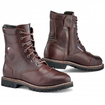 Chaussures Moto TCX Hero Waterproof Vintage Brown