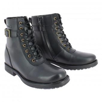 Chaussures Moto Soubirac Jane II Lady Noir