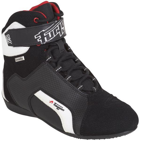 Chaussures Moto Furygan Jet D30 Sympatex Noir Blanc
