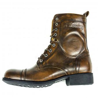 Chaussures Moto Helstons Lady Marron Vieilli