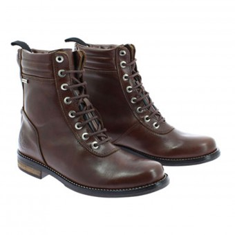 Chaussures Moto Soubirac Laxo Marron