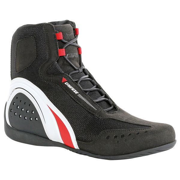 Chaussures Moto Dainese Motorshoe Air Black White Red
