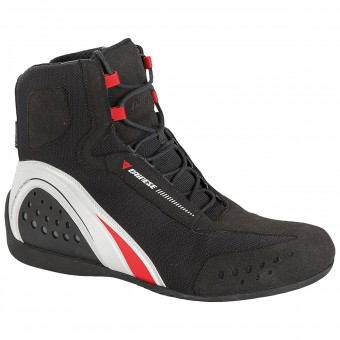 Chaussures Moto Dainese Motorshoe D-WP Black White Red