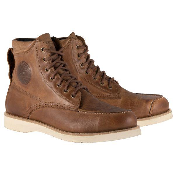 Chaussures Moto Alpinestars Oscar Monty Shoes Brown