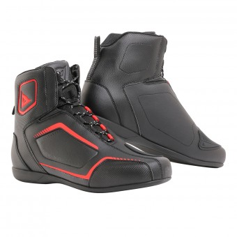 Chaussures Moto Dainese Raptors Air Black Fluo Red