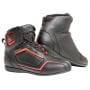 Chaussures Moto Dainese Raptors D-WP Black Fluo Red