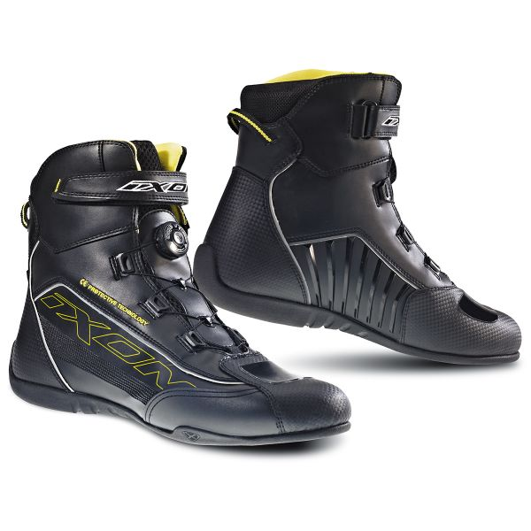 Chaussures Moto Ixon Reactor Noir Jaune