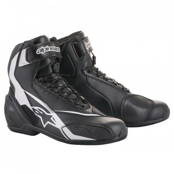 Chaussures Moto Alpinestars SP-1 V2 Black White