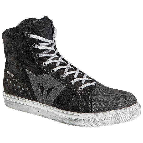 Chaussures Moto Dainese Street Biker D-WP Black Anthracite
