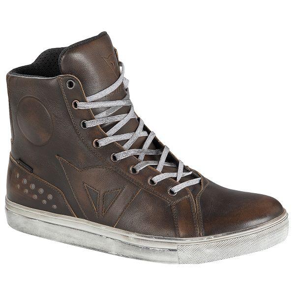 Chaussures Moto Dainese Street Rocker D-WP Brown
