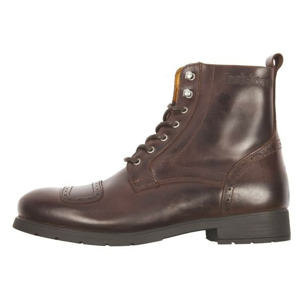 Chaussures Moto Helstons Travel Leather Brown
