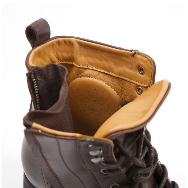 Helstons Travel Leather Brown