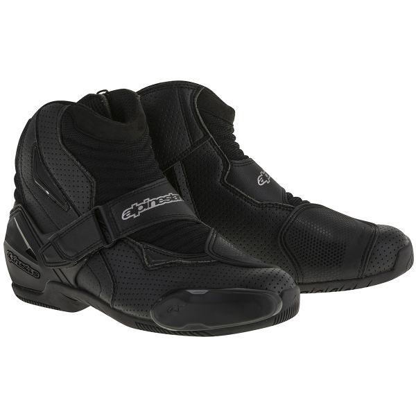 Demi-bottes Alpinestars SMX-1 R Vented Black