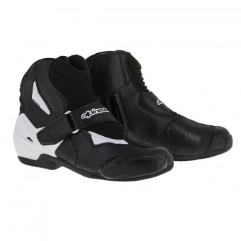 Demi-bottes Alpinestars SMX-1 R Vented Black White Graphic