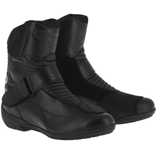 Demi-bottes Alpinestars Stella Valencia Waterproof Black
