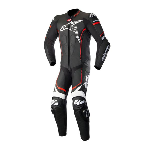 combinaison moto cuir alpinestars gp plus v2 suit black white red fluo cherche propri taire. Black Bedroom Furniture Sets. Home Design Ideas