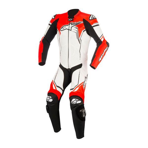 combinaison moto cuir alpinestars gp plus v2 suit white. Black Bedroom Furniture Sets. Home Design Ideas