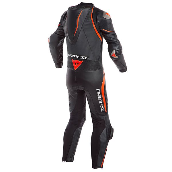Dainese Laguna Seca 4 1PC Perforated Black Fluo Red