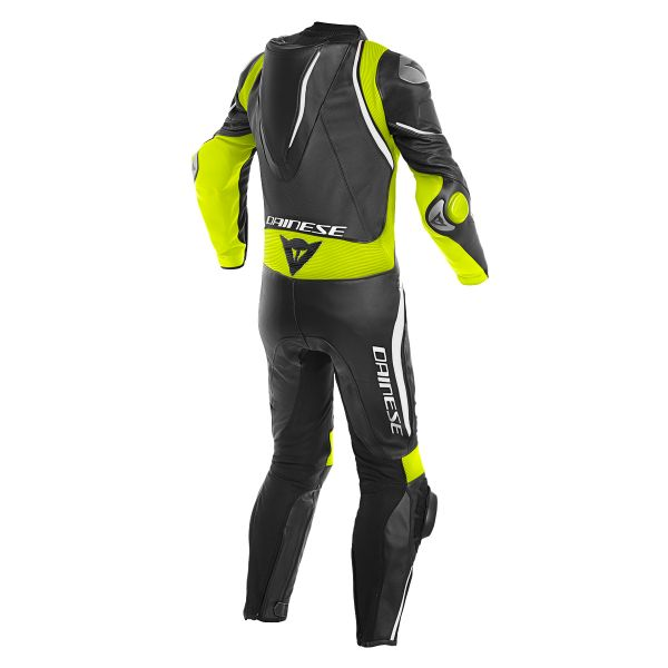 Dainese Laguna Seca 4 1PC Perforated Black Fluo Yellow