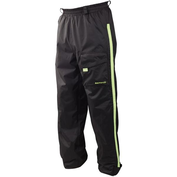 Pantalons de pluie Bering Pantalon Chicago Noir Jaune Fluo