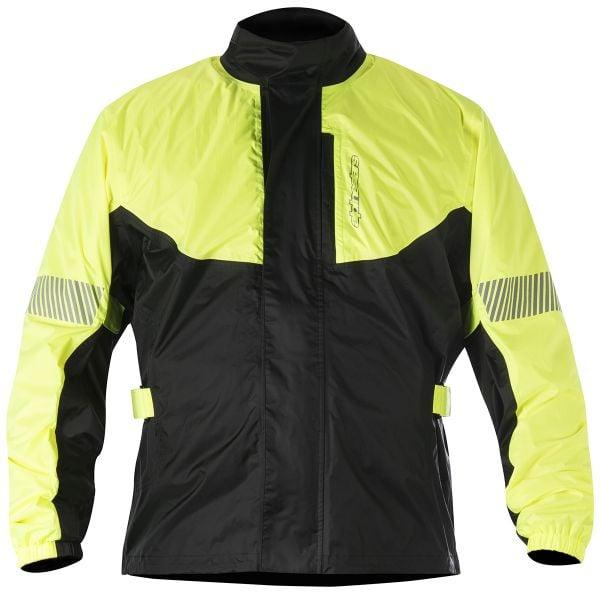 Blousons et vestes de pluie Alpinestars Hurricane Rain Jacket Yellow Fluo
