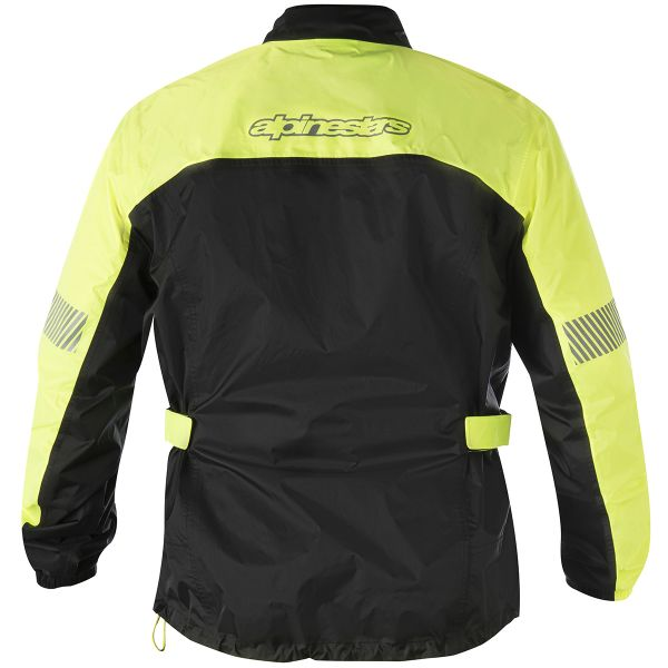 Alpinestars Hurricane Rain Jacket Yellow Fluo