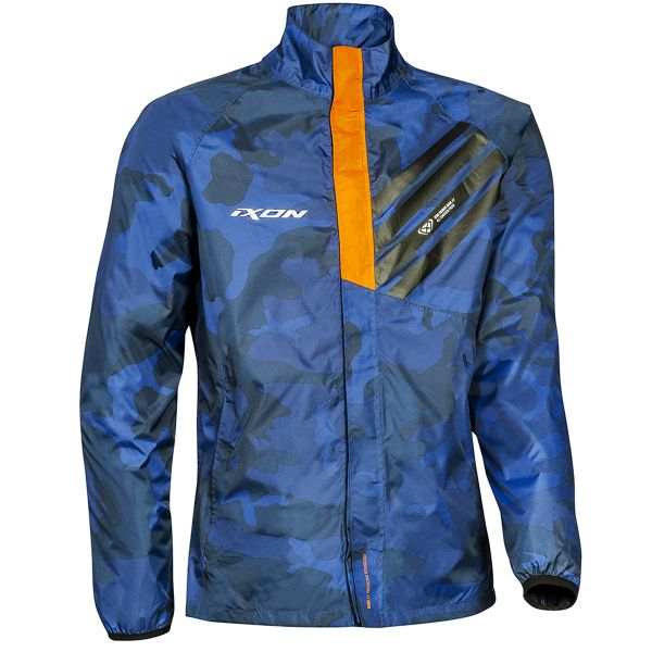 Blousons et vestes de pluie Ixon Stripe Jacket Navy Camo Orange