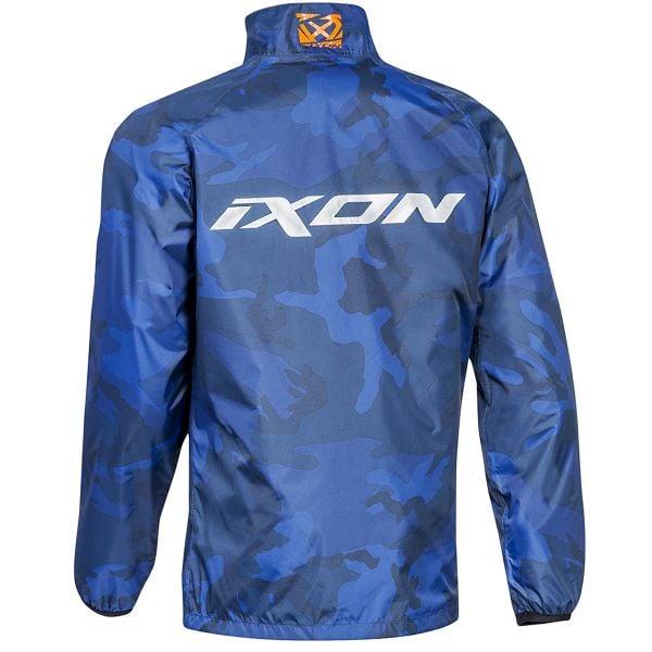 Ixon Stripe Jacket Navy Camo Orange