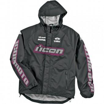 Blousons et vestes de pluie ICON PDX Bib Womens Pink Black Vest