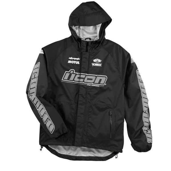 ICON PDX Shell Black