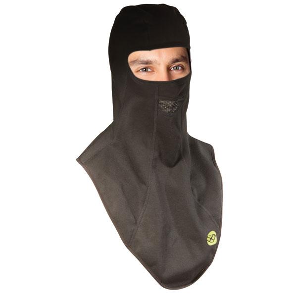 Cagoule Moto Ixon Fit Face Noir