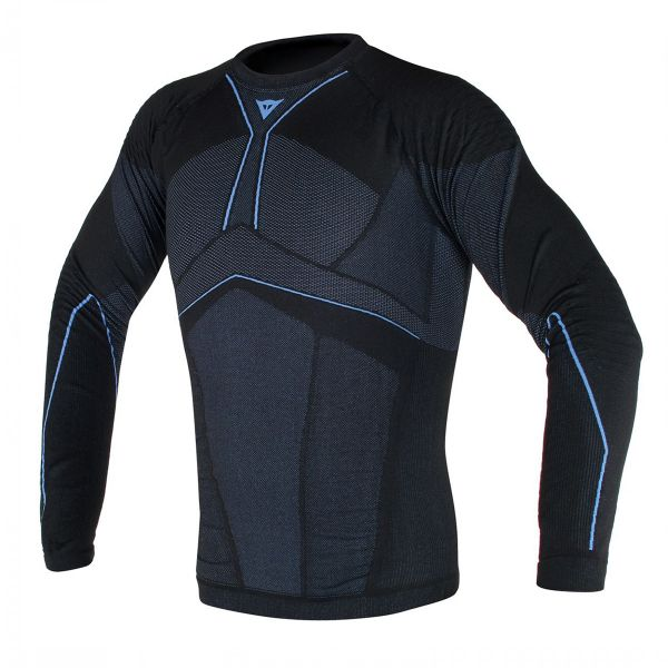Maillot Froid Dainese D-Core Aero Tee LS Black Blue