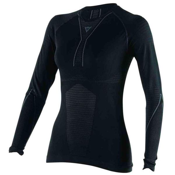 Maillot Froid Dainese D-Core Dry Tee LS Lady Black Anthracite