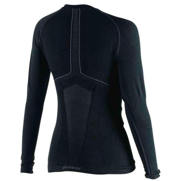 Dainese D-Core Dry Tee LS Lady Black Anthracite
