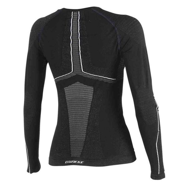 Dainese D-Core Dry Tee LS Lady Black White