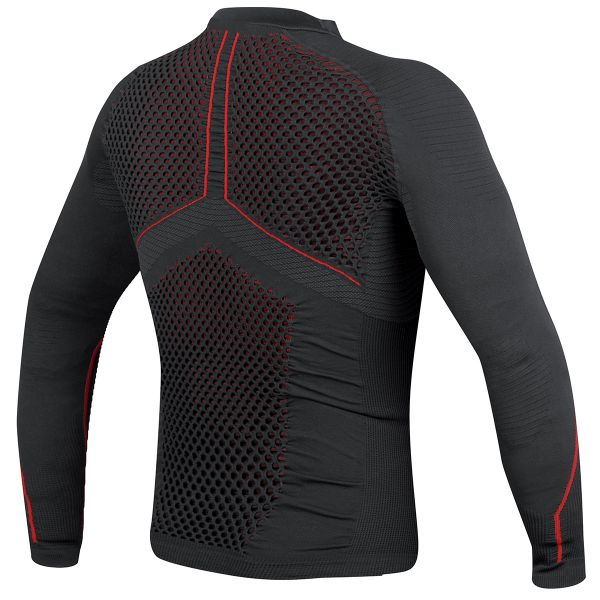 Dainese D-Core No-Wind Thermo Tee Black Red