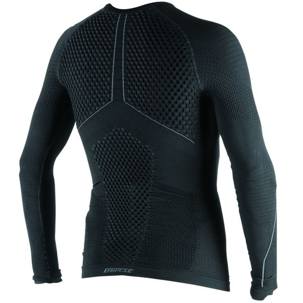 Dainese D-Core Thermo Tee LS Black Anthracite