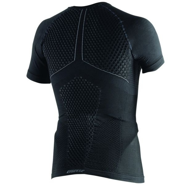 Dainese D-Core Thermo Tee SS Black Anthracite