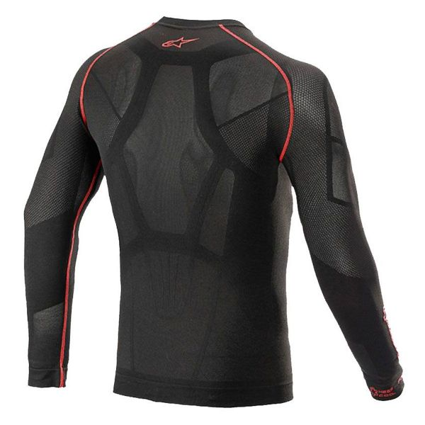 Alpinestars Ride Tech V2 Top Long Sleeve Summer Black Red