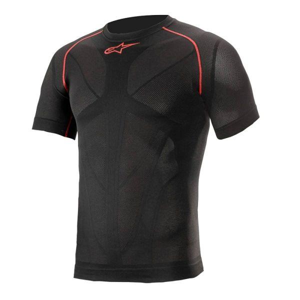 Maillot Froid Alpinestars Ride Tech V2 Top Short Sleeve Summer Black Red