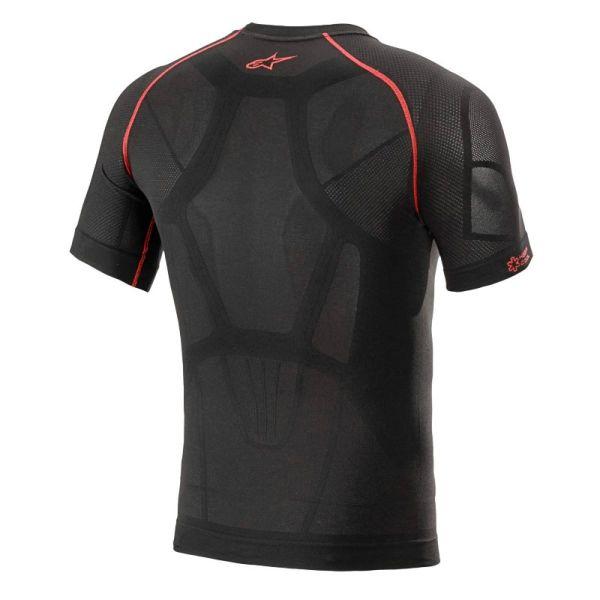 Alpinestars Ride Tech V2 Top Short Sleeve Summer Black Red