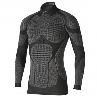 Maillot Froid Alpinestars Ride Tech Top LS Winter Black Grey