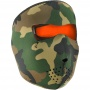 Masque Zanheadgear Woodland Camo Reversible Orange