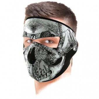 Masque Zanheadgear Glow In The Dark Skull