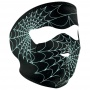 Masque Zanheadgear Spiderweb Glow In The Dark