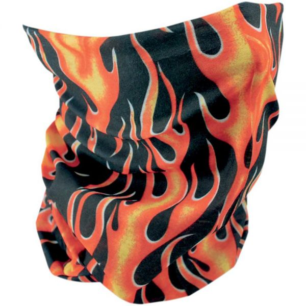 Tours De Cou Moto Zanheadgear Classic Flames
