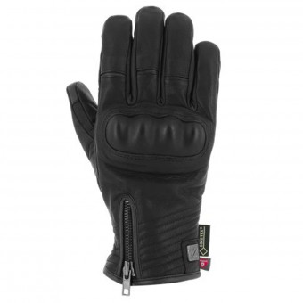 Gants Moto V'Quattro Cafe Racer Gore-Tex Black