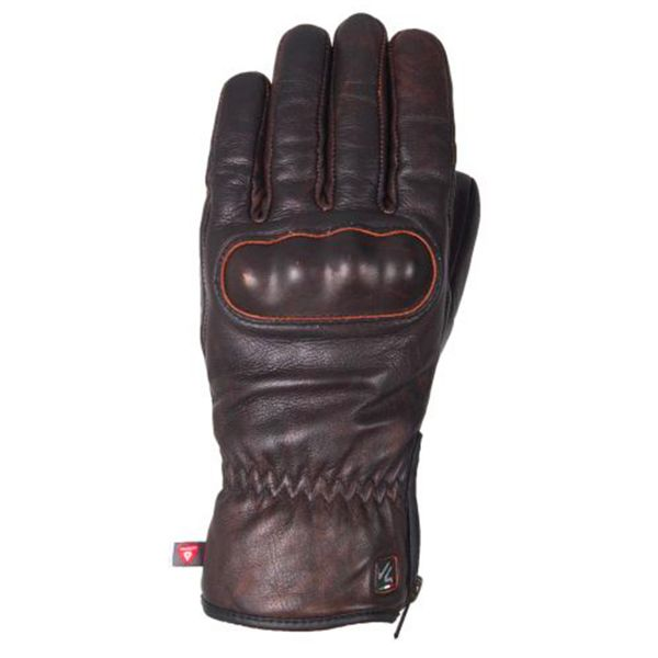 Gants Moto V'Quattro Eton Brown