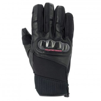 Gants Moto V'Quattro GP18 Lady Black